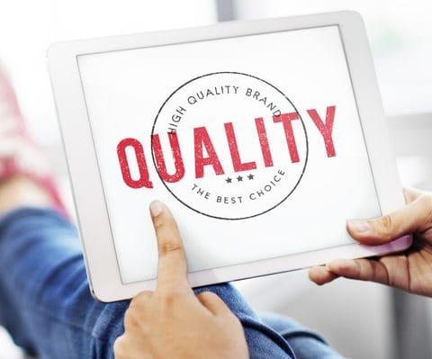 calidad del sitio web