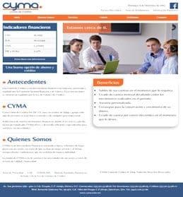 cyma sitio web
