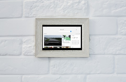 sitio como cuadro colgado en la pared